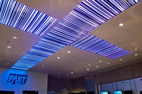 Loja Fast Shop Shopping Iguatemi: Lojas e imóveis comerciais  por Toninho Noronha Arquitetura