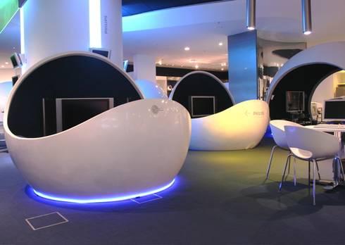 Loja Fast Shop Shopping Eldorado: Lojas e imóveis comerciais  por Toninho Noronha Arquitetura