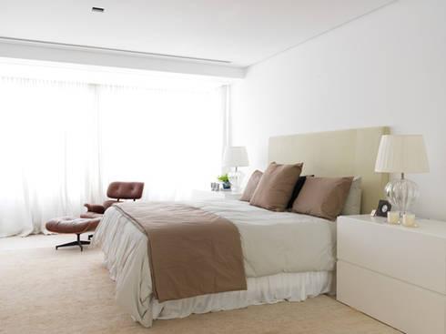 Apartamento VNC 4: Quartos  por Toninho Noronha Arquitetura