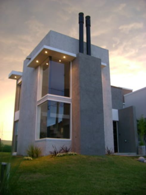 Vivienda La Estanzuela: Casas de estilo moderno por Arquitectos Positivos