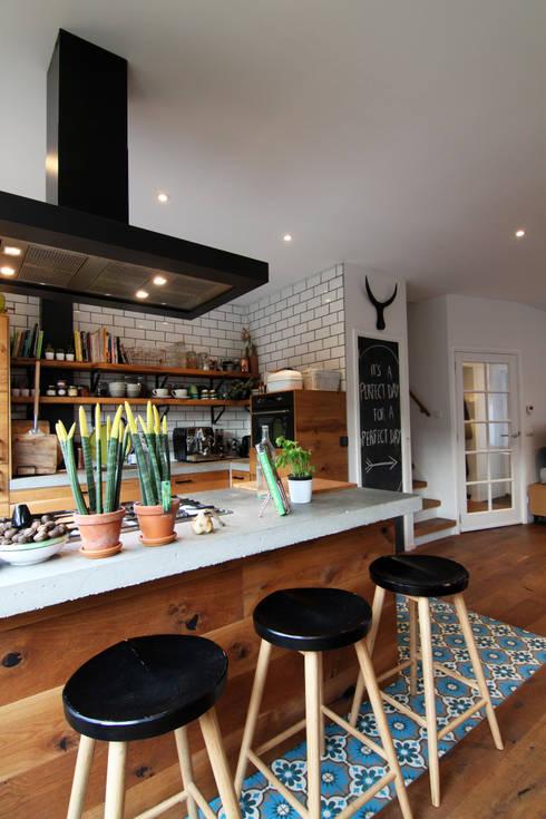Projekty,  Kuchnia zaprojektowane przez Diego Alonso designs