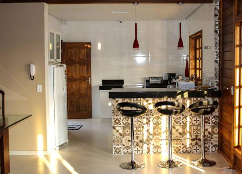 Cozinha:   por CASA & CAMPO - Casas pré-fabricadas em madeiras