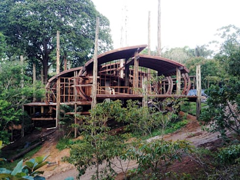 Mirante do Gavião - Amazon Lodge: Hotéis  por Atelier O'Reilly Architecture & Partners
