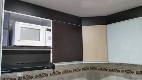 Remodelacion de Cocina Integral: Cocina de estilo  por Proyectar Diseño Interior