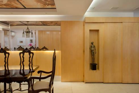 Apartamento Leblon – RJ: Salas de jantar modernas por DG Arquitetura + Design