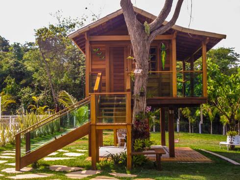 Casinha de Criança:   por CASA & CAMPO - Casas pré-fabricadas em madeiras