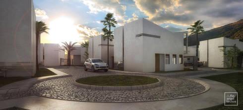 Punta Caracol : Casas de estilo moderno por A.flo Arquitectos