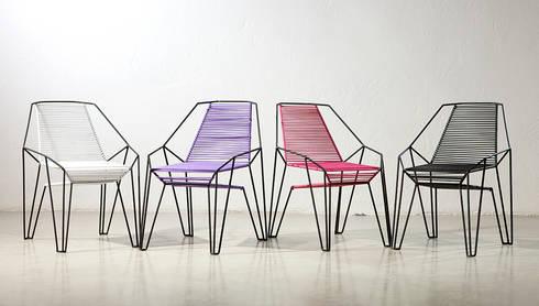 Mobiliario y Producto: Balcones y terrazas de estilo  por ODA - Oficina de Diseño y Arquitectura