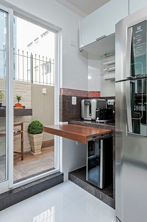 Cocinas de estilo tropical por Patrícia Azoni Arquitetura + Arte & Design