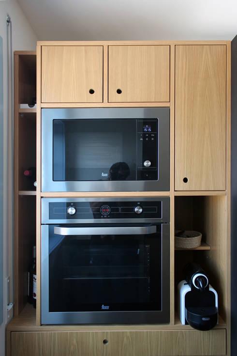 a cozinha que nos faz felizes: Cozinha  por crónicas do habitar