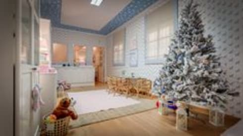 Querido Especial Natal: Antes e depois: Quartos de criança modernos por Blanco Interiores