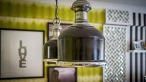 Blanco Interiores – Projecto Habitação: Salas de estar modernas por Blanco Interiores