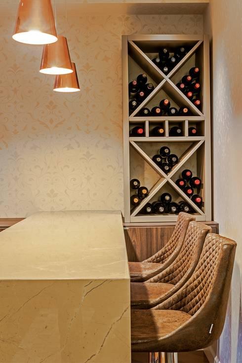 klasieke Wijnkelder door Studio Boscardin.Corsi Arquitetura