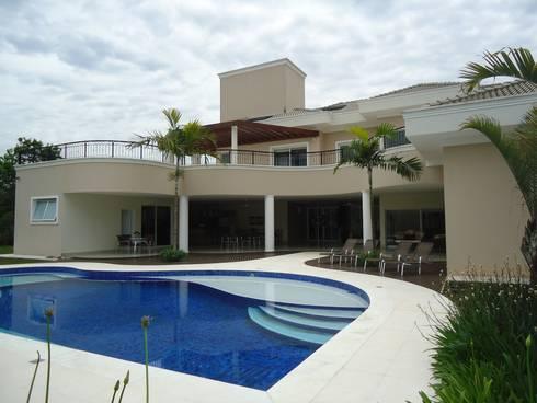 Projeto Residencial – Condomínio Capital Ville: Casas modernas por Arquidecor Projetos