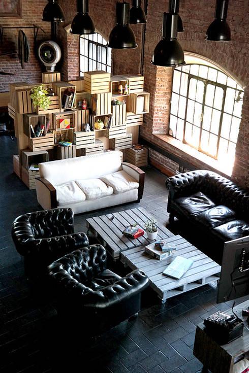diseño de oficinas - PIXOWL: Oficinas y Tiendas de estilo  por ARQANOID