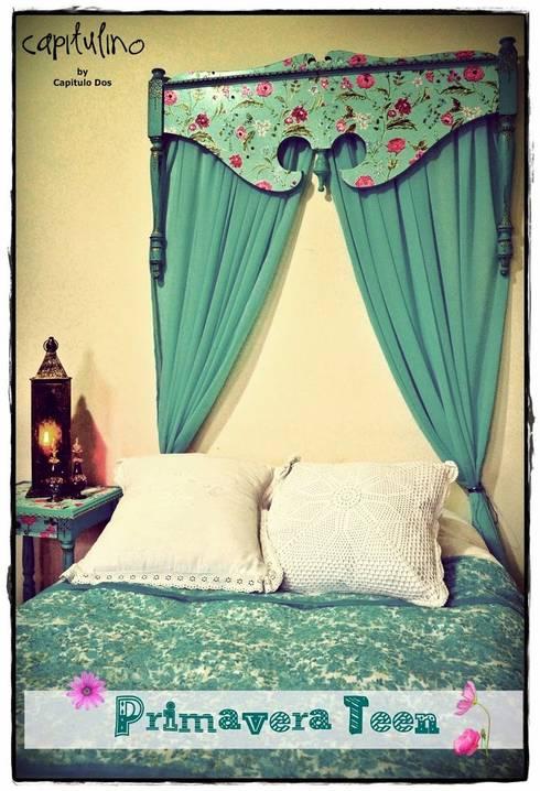 Camas: Dormitorios de estilo asiático por Capítulo Dos