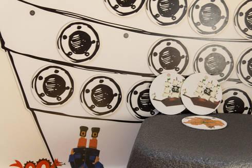 Kinderspielecke – Detail des Memoryspiels:  Praxen von Büro Köthe