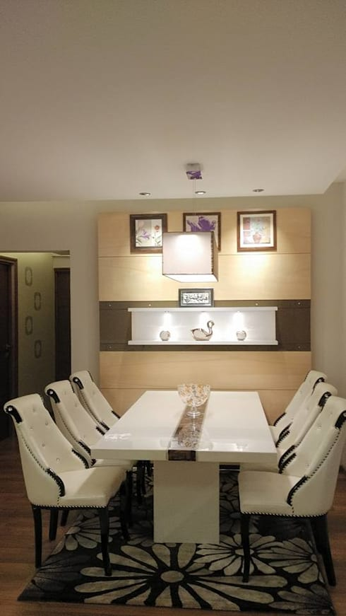 Apartment: modern Dining room by 4site architects