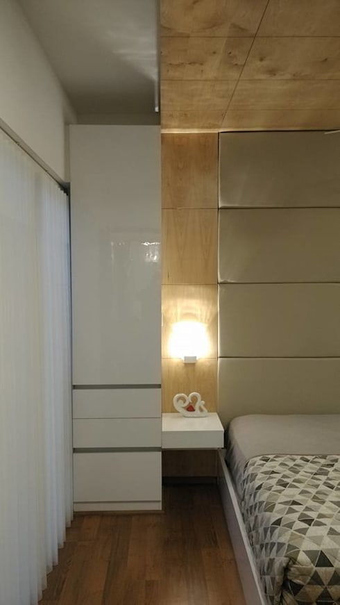 Apartment: modern Bedroom by 4site architects