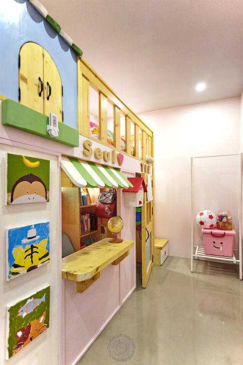 industrial Nursery/kid's room by 제이앤예림design