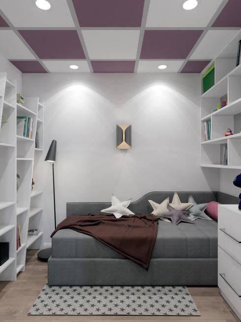 classic Nursery/kid's room by Студия дизайна интерьера Маши Марченко