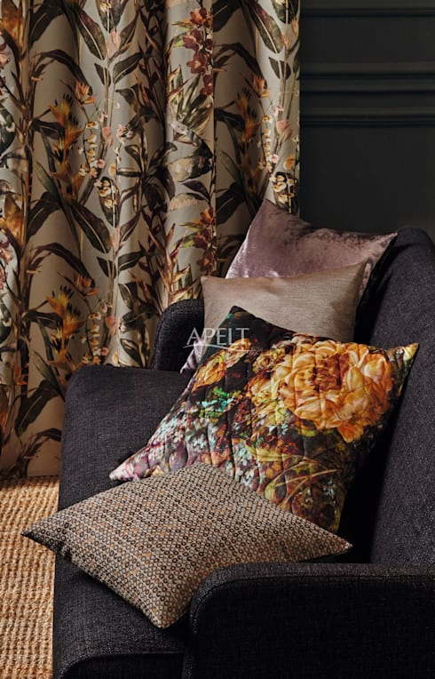 Salon de style de style Moderne par APELT STOFFE