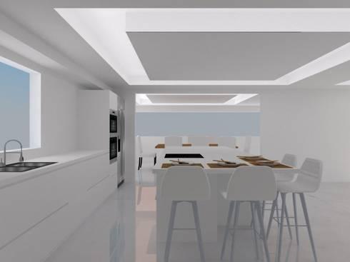 COCINA: Casas de estilo moderno por ARCE MOBILIARIO