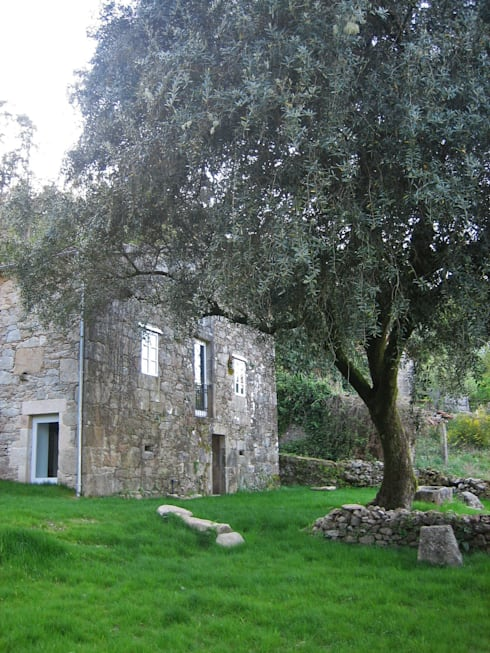 منازل تنفيذ Ezcurra e Ouzande arquitectura