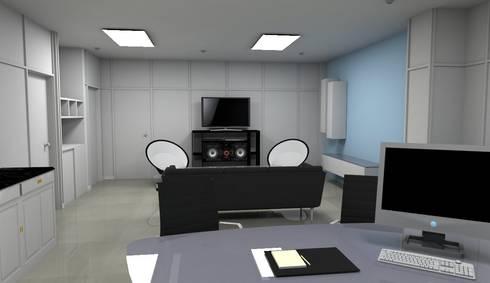 Render Interior - Diseño:  de estilo  por Atahualpa 3D