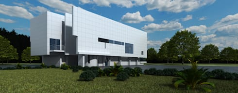 Casa Moderna 3  - Despues:  de estilo  por Atahualpa 3D