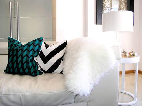 Sala de Estar: Salas de estar minimalistas por Andreia Alexandre Interior Styling