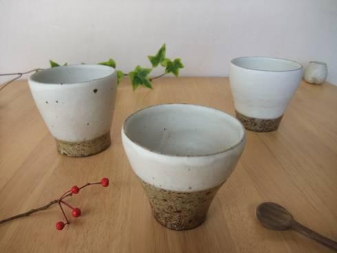 フリーカップ: kamiyama-工房が手掛けたキッチンです。