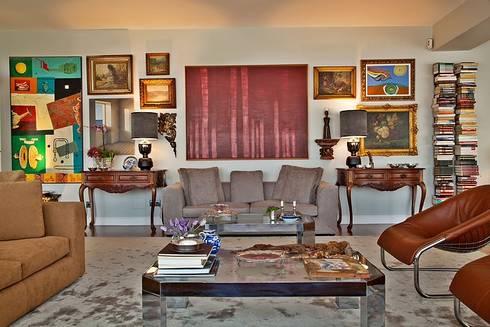 Apartamento São Sebastião: Salas de estar modernas por Artica by CSS
