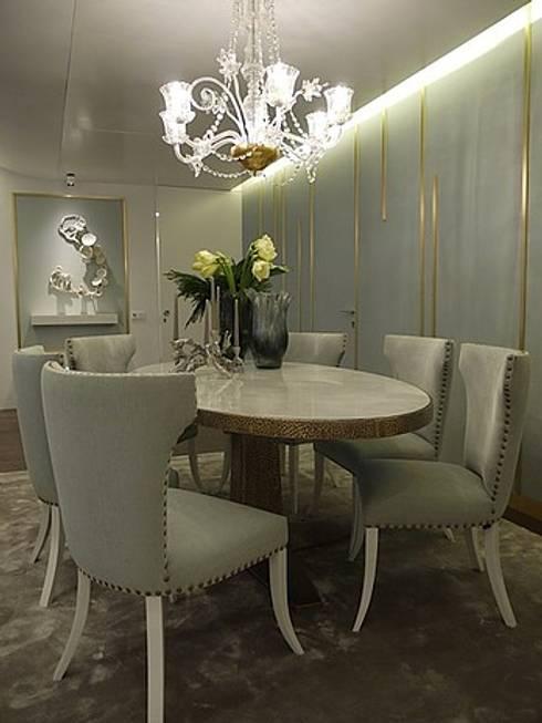 Apartamento Estoril: Salas de jantar modernas por Artica by CSS