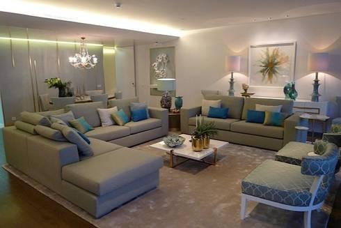 Apartamento Estoril: Salas de estar modernas por Artica by CSS