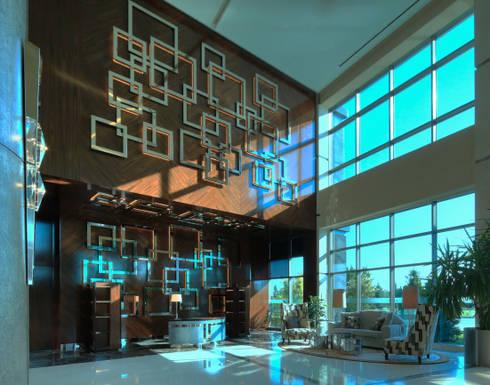 Hotel Sheraton, Baku (Azerbaijan): Sala de estar  por Ferreira de Sá