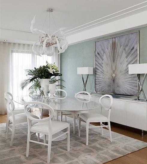 APARTAMENTO BENFICA: Salas de jantar modernas por Artica by CSS