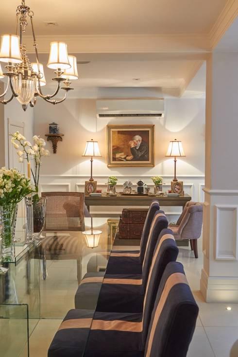 Jantar: Salas de jantar clássicas por Piloni Arquitetura