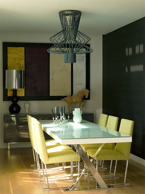 APARTAMENTO LAPA: Salas de jantar modernas por Artica by CSS