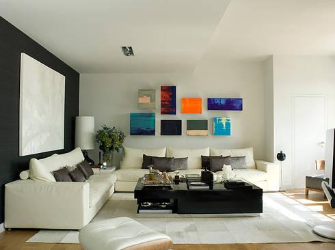 APARTAMENTO LAPA: Salas de estar modernas por Artica by CSS