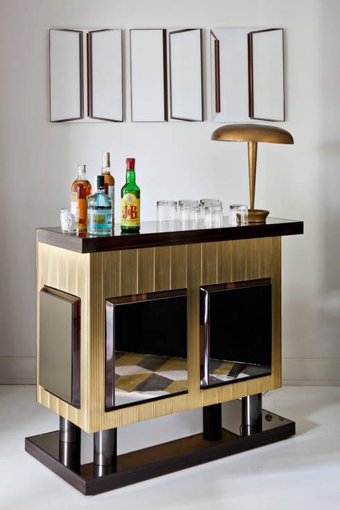 Piso en el Viso (Madrid): Salones de estilo  de IN DESIGN Studio