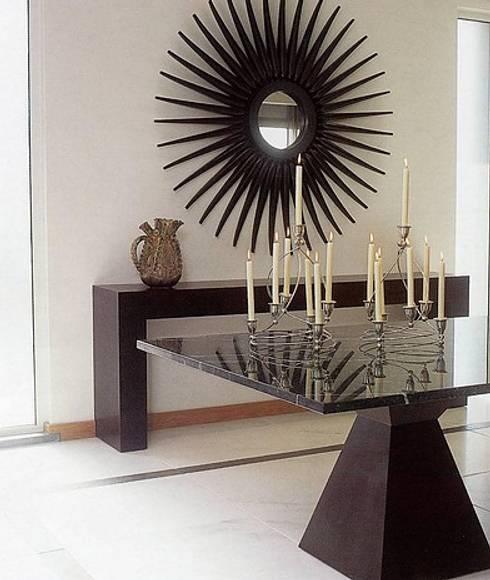 MORADIA SARILHOS GRANDES: Salas de jantar modernas por Artica by CSS
