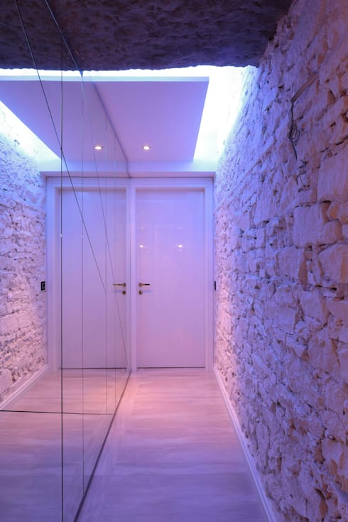 Projekty,  Korytarz, przedpokój zaprojektowane przez Michele volpi -studio interior design