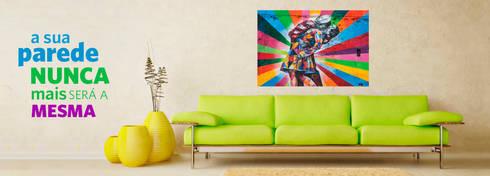 Impressão em lona opaca, sem laminação: Casa  por Kriativus.net - Impressão Fotográfica Online