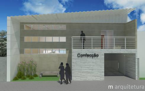 Arquitetura Industrial : Lojas e imóveis comerciais  por M Arquitetura