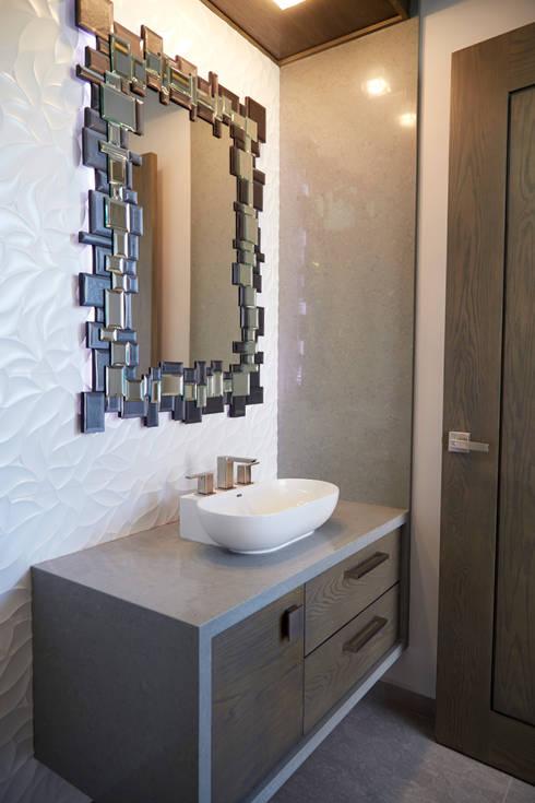 wc ingreso: Baños de estilo  por arketipo-taller de arquitectura