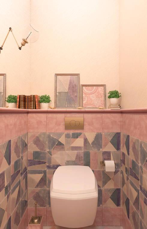 """санузел """"Aleatorio"""": Ванные комнаты в . Автор – Студия дизайна Дарьи Одарюк"""