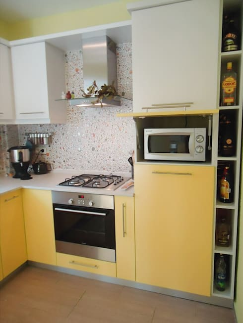 BAGO MİMARLIK  – Selçuk Villa:  tarz Mutfak