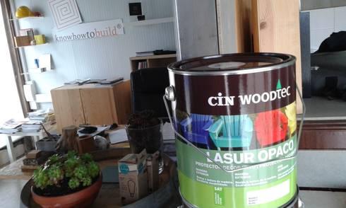 Preparação de obra em atelier.:   por knowhowtobuild