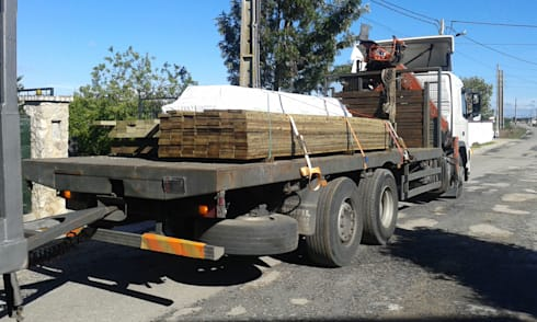 Chegada de Madeira 1ª qualidade.:   por knowhowtobuild